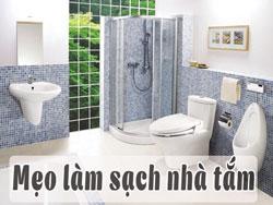 Cách làm sạch thiết bị nhà vệ sinh