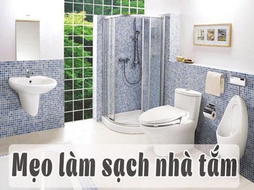 cách làm sạch nhà tắm 2