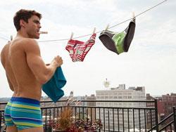 Cách giặt quần lót