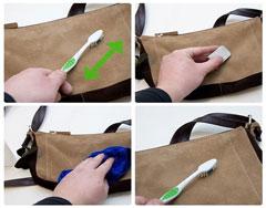 3 cách giặt túi da hiệu quả nhất