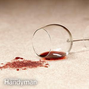 Thổi bay vết bẩn cà chua, rượu vang, cà phê trên thảm