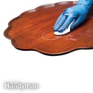 Làm sạch đồ gỗ gia đình thế nào?