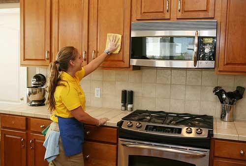 Cách dọn nhà bếp nhẹ nhàng, không phải ngại