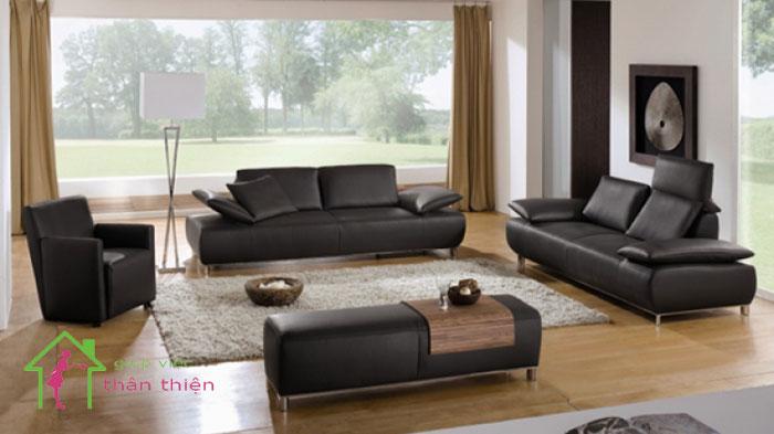 Hướng dẫn làm mới ghế sofa bằng da đơn giản