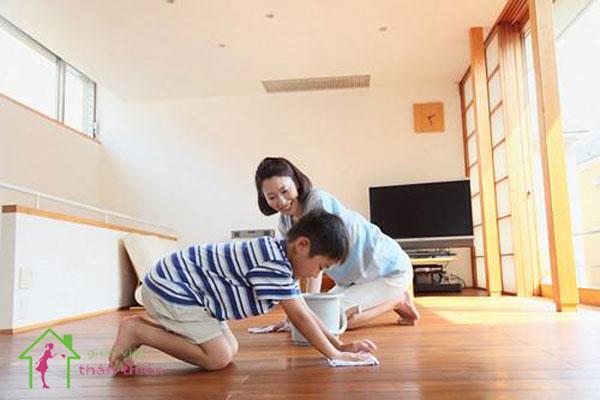 Cách làm sạch nhà mới hoàn thiện xong đơn giản