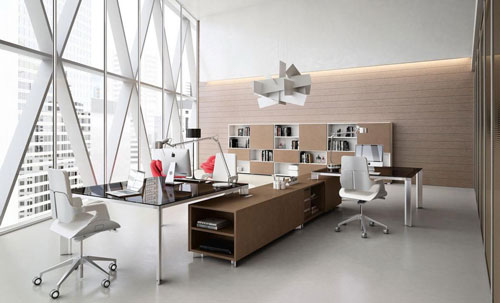 tối giản văn phòng đẹp