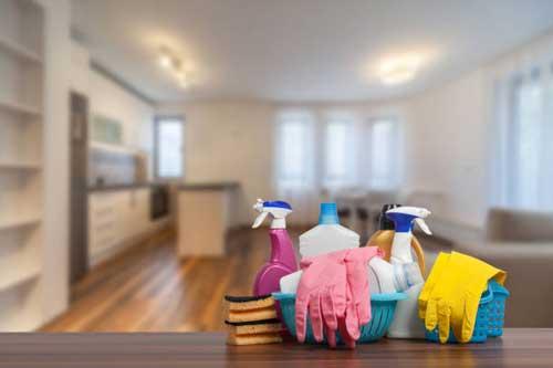 Cần chuẩn bị công cụ đầy đủ trước khi vệ sinh nhà sau xây dựng
